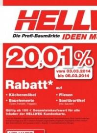 Hellweg Aktuelle Angebote März 2014 KW10