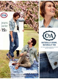 C&A Naturally Denim, Naturally You März 2014 KW10 2