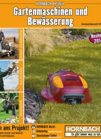 Hornbach Gartenmaschinen März 2014 KW10