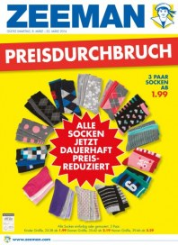 Zeeman Preisdurchbruch März 2014 KW10