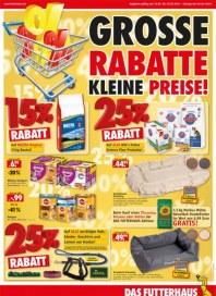 Das Futterhaus Große Rabatte, kleine Preise März 2014 KW11