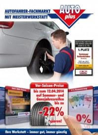 auto plus Vor-Saison-Preise März 2014 KW11