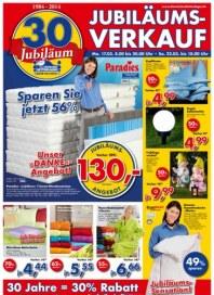 Dänisches Bettenlager 30 Jahre Jubiläum März 2014 KW12