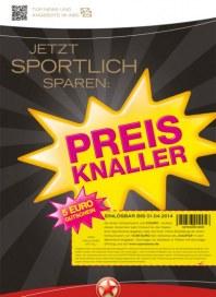 Sportarena Preis Knaller März 2014 KW12