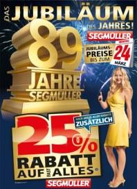 Segmüller Jubiläums-Preise März 2014 KW12