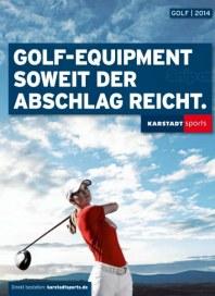 KARSTADT Karstadt sports - Golf 2014 März 2014 KW12