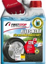 First Stop Reifen Auto Service GmbH Alles klar für den Frühlingsstart März 2014 KW12