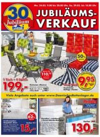 Dänisches Bettenlager Jubiläumsverkauf März 2014 KW13