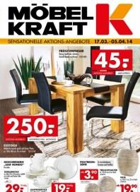 Möbel Kraft Sensationelle Aktions-Angebote März 2014 KW12