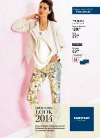 KARSTADT Fashion - Frühjahrs Look 2014 März 2014 KW13 1