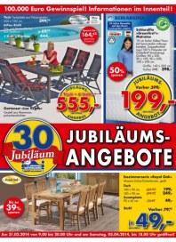 Dänisches Bettenlager Jubiläumsangebote März 2014 KW14