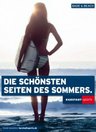 KARSTADT Karstadt sports - Bade/beach 2014 März 2014 KW14