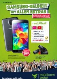 mobilcom-debitel Samsung-Neuheit mit allen Extras April 2014 KW14