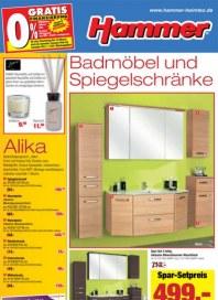 Hammer Badmöbel und Spiegelschränke April 2014 KW14