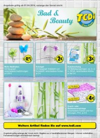 Tedi Bad & Beauty April 2014 KW14