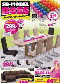 SB Möbel Boss Aktuelle Angebote April 2014 KW14