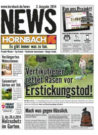 Hornbach Hornbach News April 2014 KW14