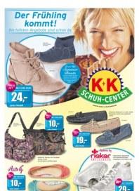 K+K Schuh-Center Der Frühling kommt April 2014 KW14