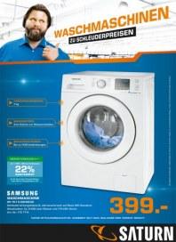 Saturn Waschmaschinen zu Schleuderpreisen April 2014 KW14
