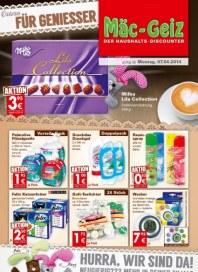 Mäc-Geiz Aktuelle Angebote April 2014 KW15