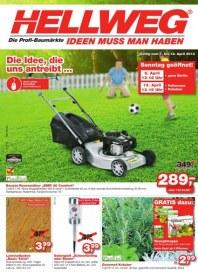 Hellweg Aktuelle Angebote April 2014 KW15