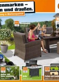 OBI OBI Eigenmarken - Für drinnen und draußen April 2014 KW14