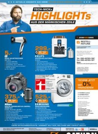 Saturn Tech-Nicks Highlights in der Märkischen Zeile April 2014 KW15