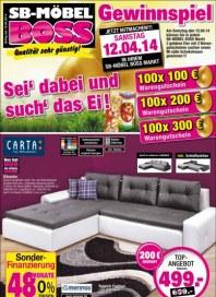 SB Möbel Boss Aktuelle Angebote April 2014 KW15 1