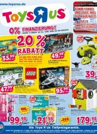 Toys'R'us 20% Rabatt April 2014 KW15
