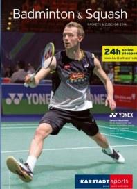 KARSTADT Karstadt sports - Badminton & Squash 2014 April 2014 KW15