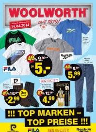 Woolworth Top Marken – Top Preise April 2014 KW16