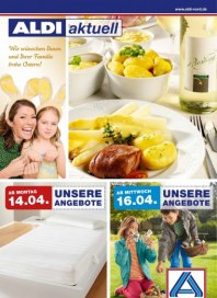 Aldi Nord Aldi Aktuell - Angebote ab Montag, 14.04 April 2014 KW16