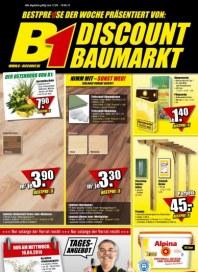 B1 Discount Baumarkt Aktuelle Angebote April 2014 KW15