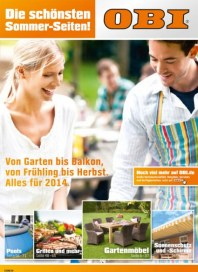 OBI Die schönsten Sommerseiten April 2014 KW16