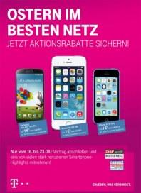 Telekom Shop Ostern im besten Netz April 2014 KW16