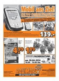 Globus Baumarkt Haupflyer April 2014 KW18 3