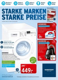 KARSTADT Elektro - Starke Marken Starke Preise April 2014 KW18