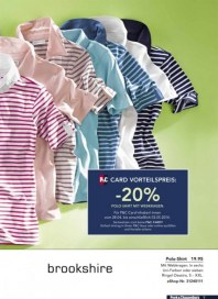 Peek & Cloppenburg 20% Vorteil mit der P&C Card April 2014 KW18 4