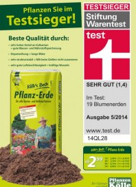 Pflanzen Kölle Pflanzen Sie im Testsieger April 2014 KW18