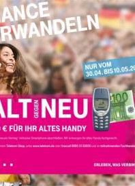 Telekom Shop Chance verwandeln - Alt gegen neu April 2014 KW18