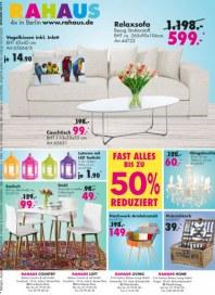 Rahaus Fast alles bis zu 50% reduziert April 2014 KW18