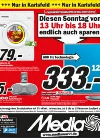 MediaMarkt Diesen Sonntag endlich auch sparen Mai 2014 KW18