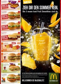 McDonald's Zieh Dir den Sommer rein Mai 2014 KW19