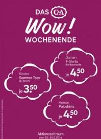 C&A Das WOW! Wochenende Mai 2014 KW21 1