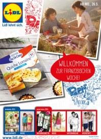 Lidl Willkommen zur französischen Woche Mai 2014 KW22
