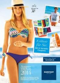 KARSTADT Sommer Trends 2014 Mai 2014 KW22 1