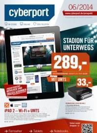 Cyberport Stadion für unterwegs Juni 2014 KW23
