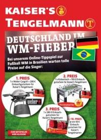 Tengelmann Deutschland im WM-Fieber Juni 2014 KW23