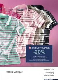 Peek & Cloppenburg 20% Vorteil mit der P&C Card Juni 2014 KW23