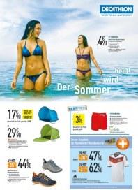DECATHLON Der Sommer wird heiß Juni 2014 KW23